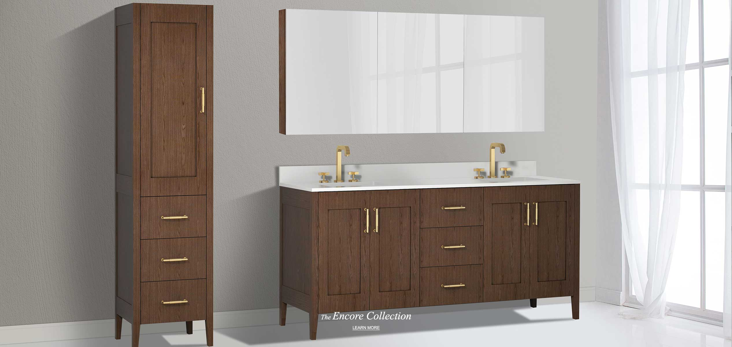 Encore 72 Inch Double Bowl Vanity