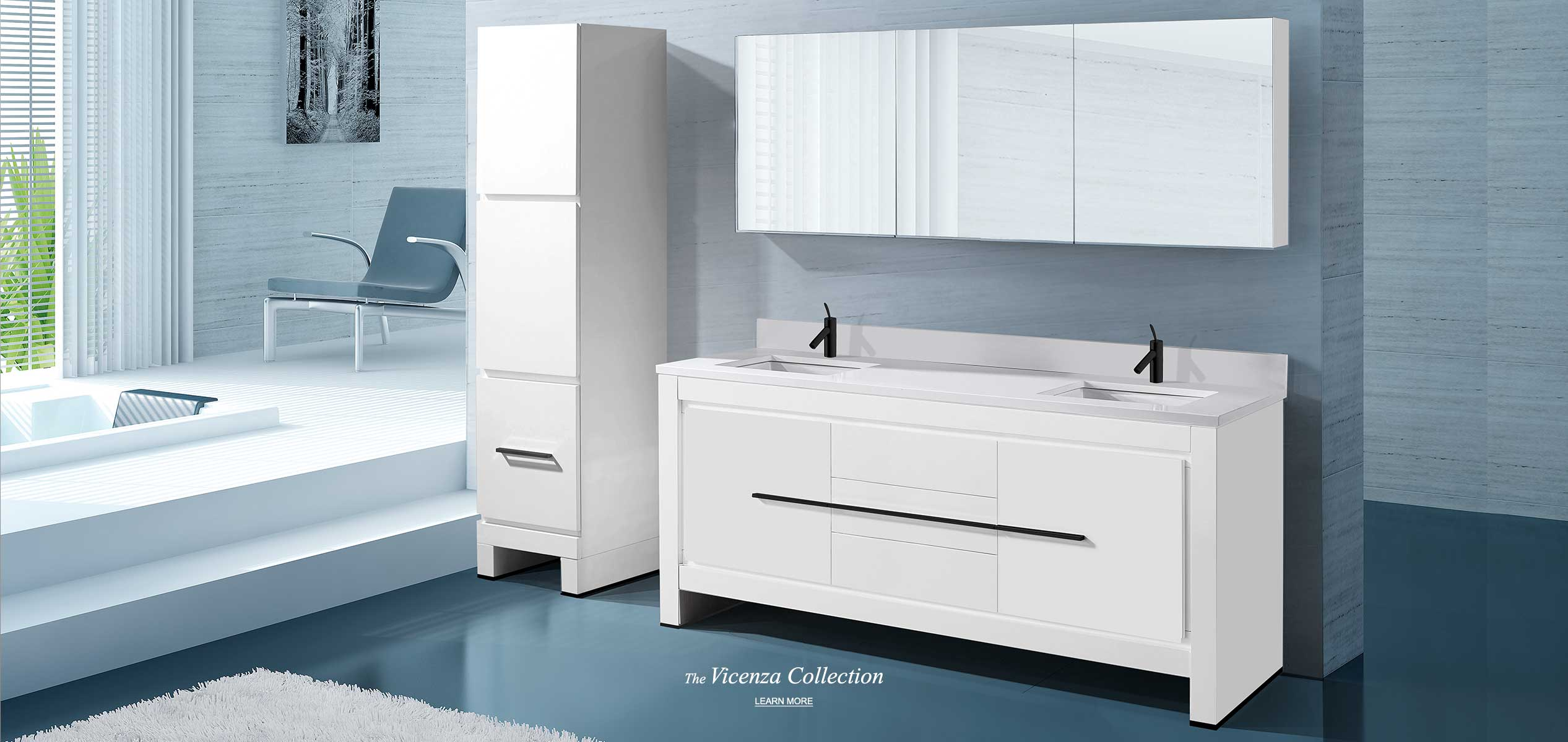 Modern Bathroom Furniture Vanities Washbasins And Lighted Mirrors Madeli