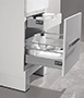 Linen Cabinets, Euro-18
